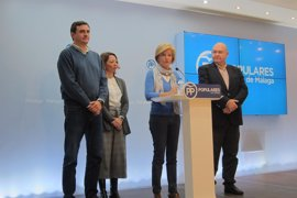 El PP plantea 98 enmiendas a los presupuestos de la Junta en Málaga por 414 millones