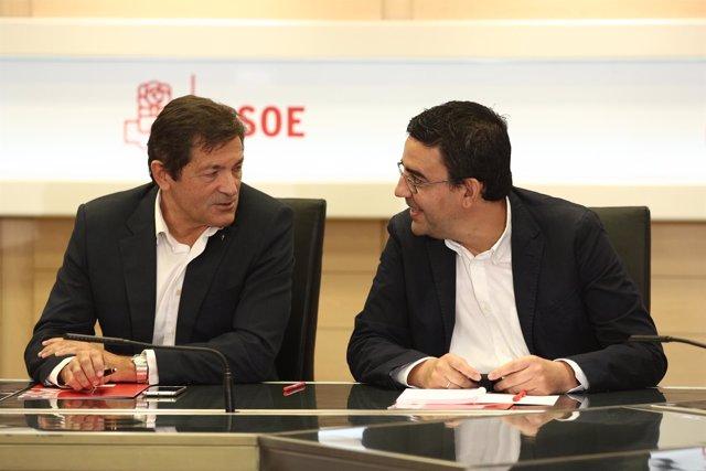 Javier Fernández y Mario Jiménez