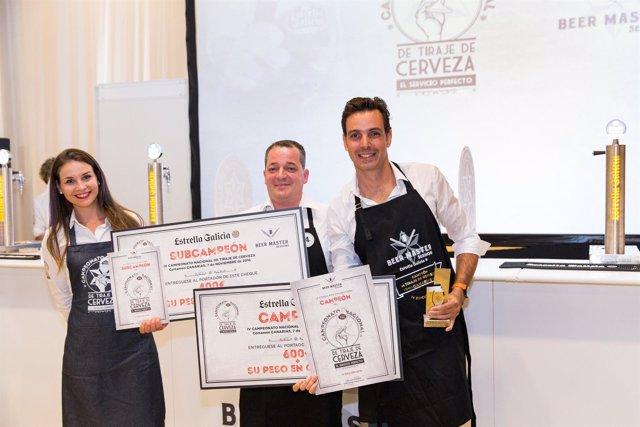 Campeón y subcampeón del IV Campeonato Estrella Galicia