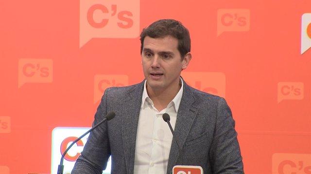 """Rivera: """"Los ciudadanos premian la estabilidad"""""""