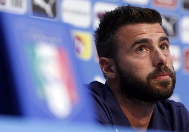 El jugador de la selección italiana Andrea Barzagli