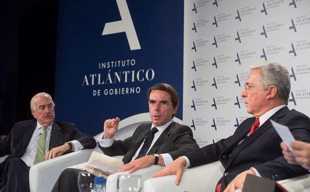 Andrés Pastrana, José María Aznar, Álvaro Uribe