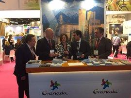 """Turismo.-La capital estrena presencia en World Travel Market para mostrar que va """"más allá de la Alhambra"""""""