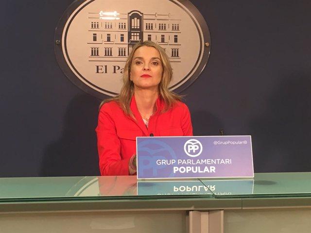 La portavoz popular del PP en el Parlament, Marga Prohens
