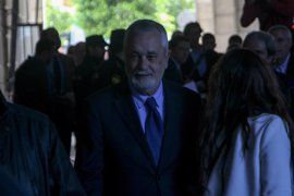 Griñán pide al juez ampliar a 45 días el plazo para presentar su escrito de defensa