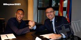 """El Barcelona, """"estupefacto"""" por el procesamiento a Neymar, Bartomeu y el propio club"""
