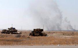 Los peshmerga toman Bashiqa, si bien quedan focos de resistencia de Estado Islámico