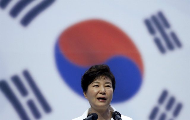 La presidenta de Corea del Sur, Park Geun Hye