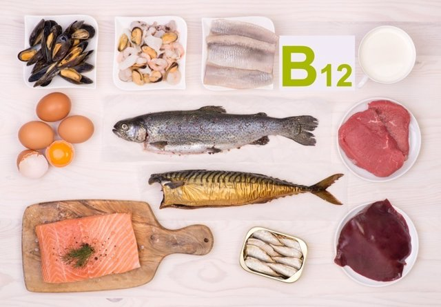 Vitamina B12, pescado, sardinas, huevos, salmón