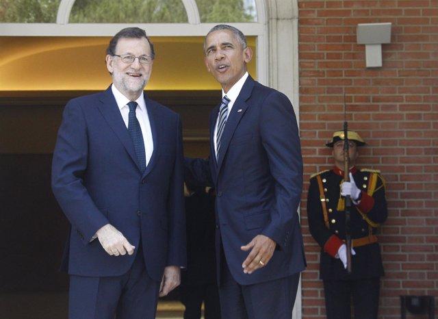 Obama y Rajoy