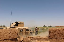 Mueren siete comandantes talibán en un bombardeo aéreo en Helmand