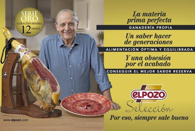 Imagen de la nueva campaña de comunicación de ElPozo Alimentación