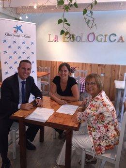 "Ndp Foto: La Obra Social ""La Caixa"" Destina 9.220 Euros A La Asociación Ekananda"