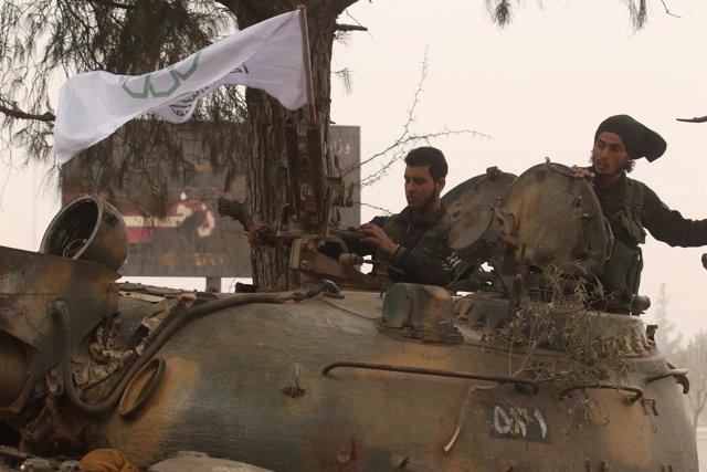 Ofensiva rebelde sobre el oeste de Alepo