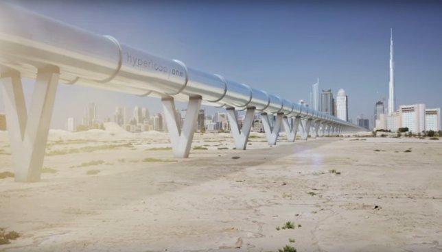 Hyperloop para Emiratos