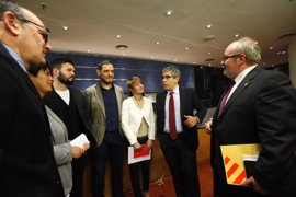 Podemos, ERC, PNV y Bildu unen fuerzas en el Congreso contra el suplicatorio de Homs