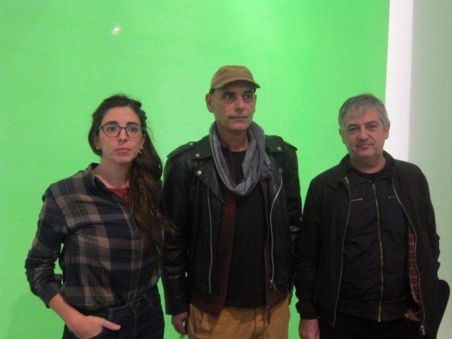 J.Hurtado (ACCA), E.Maurí (PAAC) y R.Parramon (Xarxaprod)