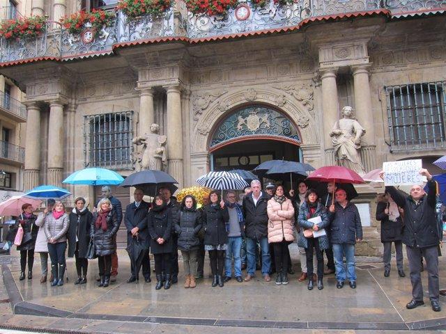 Concentración en Pamplona contra la última agresión sexual