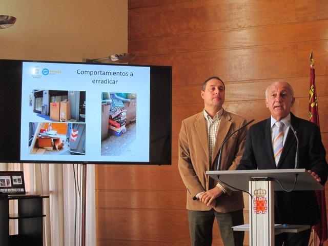El concejal Roque Ortiz presenta el balance de la Brigada Cívica de Información