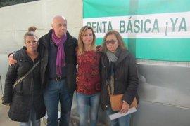 Podemos Andalucía llevará iniciativa al Parlamento para reivindicar la renta básica
