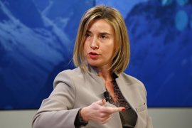 """Mogherini pide usar los grupos de combate de la UE como misiones """"puente"""" hasta la llegada de una fuerza de la ONU"""