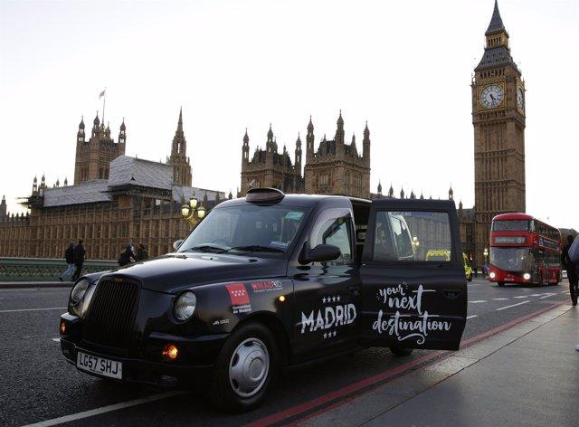 Imagen de la campaña en Londres