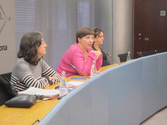 Carme Borrell, Laia Ortiz y Gemma Tarafa