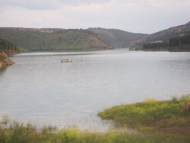 Embalse del Ebro.