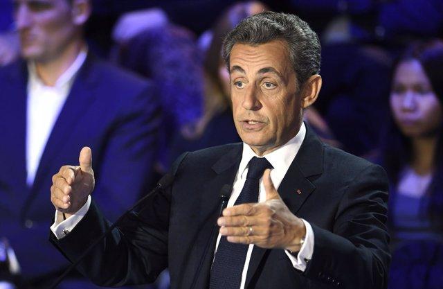 El expresidente de Francia Nicolas Sarkozy
