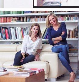 La periodista Marta Robles y la escritora Carmen Posadas.