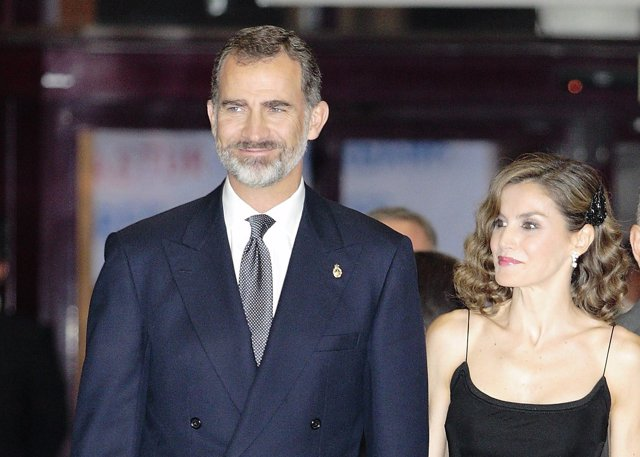 Los Reyes Felipe y Letizia/ Aurelio Florez