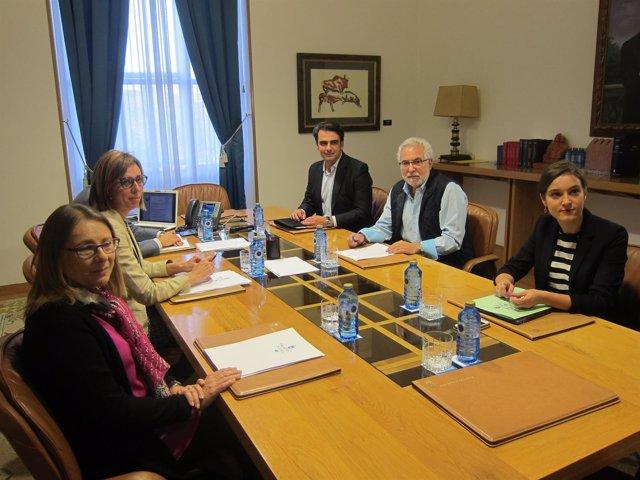 Mesa del Parlamento de Galicia, X Legislatura