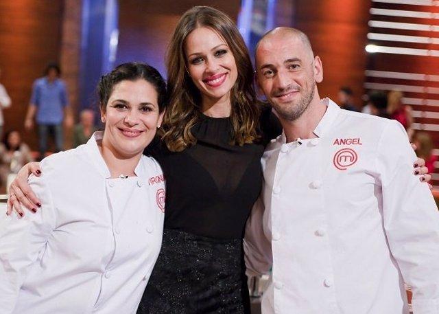 Virgina, Eva González y Ángel/ RTVE