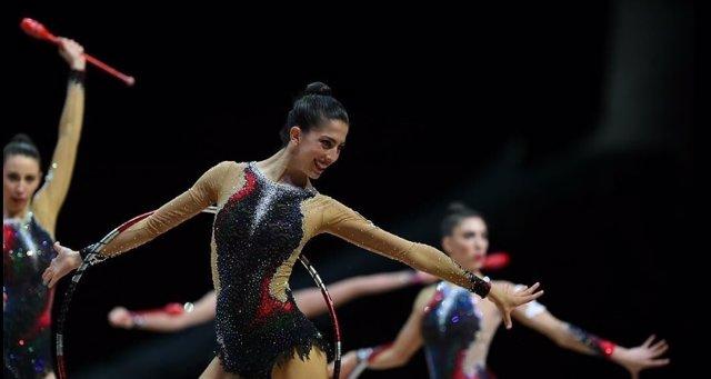 Equipo español gimnasia rítmica Bakú