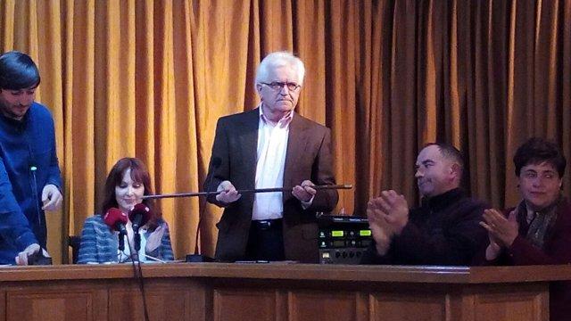 Juan Moreno (C's) toma posesión como alcalde de Quintanilla de Onésimo