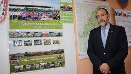 Paco Díez, nuevo presidente de la Federación Madrileña de fútbol