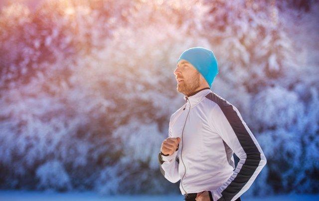 Deporte invierno, ejercicio, nieve