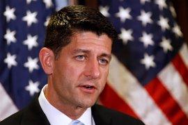 """Paul Ryan ve en el triunfo de Trump un rechazo a las """"fallidas políticas"""""""