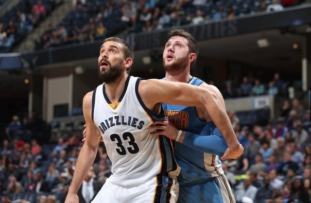 Marc Gasol Memphis Grizzlies Denver Nuggets