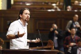 """Iglesias critica la """"ignorancia"""" de Rivera al comparar a Podemos con el """"populismo"""" de Trump"""
