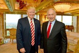 """Netanyahu felicita a Trump, """"un verdadero amigo de Israel"""""""