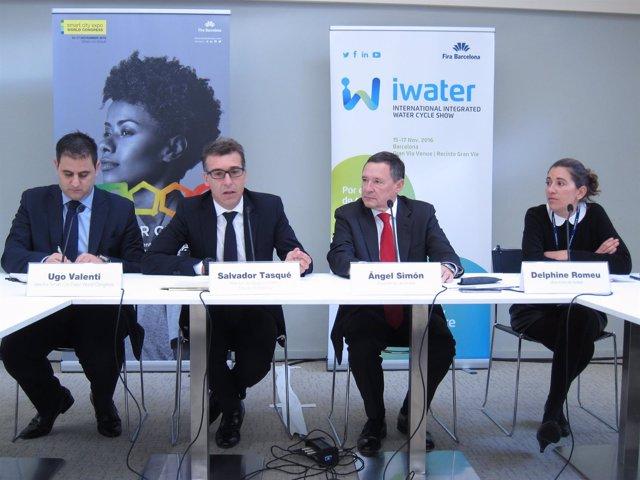 Ugo Valenti, Salvador Tasqué, Ángel Simon,Delphine Romeu