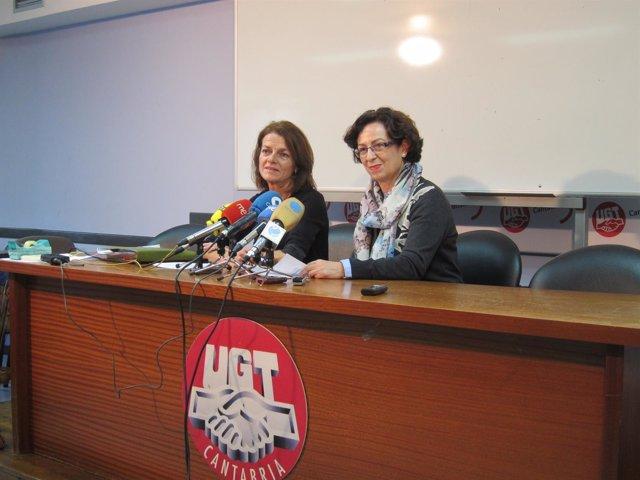 Margarita Pelayo y Gracia Álvarez