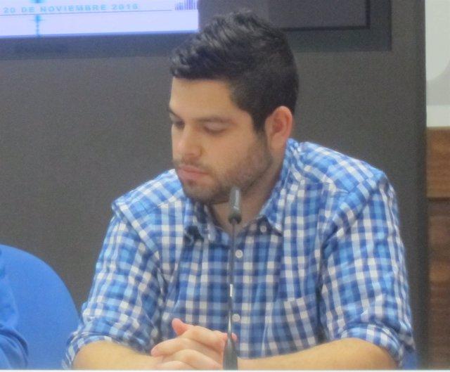 El Concejal De Economía De Oviedo, Rubén Rosón.
