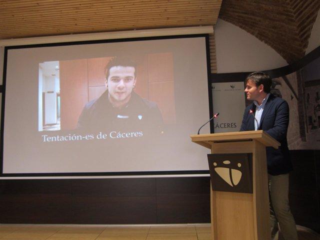 Presentación de Tentación-es en Cáceres