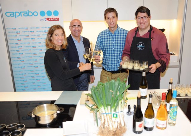Presentación de la Jornada Gastronómica del Calçot de Valls en Caprabo
