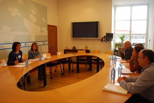 Reunión de la conselleira de Medio Rural con el CIAM