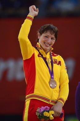 Maider Unda consigue el bronce en la categoría de -72 kilos