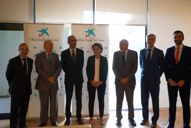Acuerdo La Caixa y el Real Instituto de Estudios Europeos
