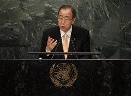 Ban felicita a Trump y llama a respetar los principios de la Carta de Naciones Unidas